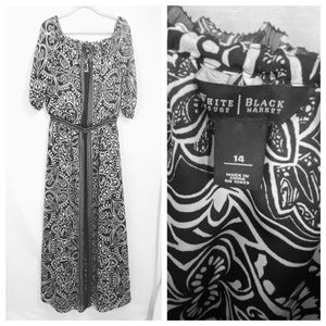 White House Black Market Maxi Dress Size 12